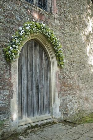 laurence: St Laurence Church Door in Lurgashall, UK