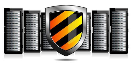 Network Security - Servers and Shield Protection