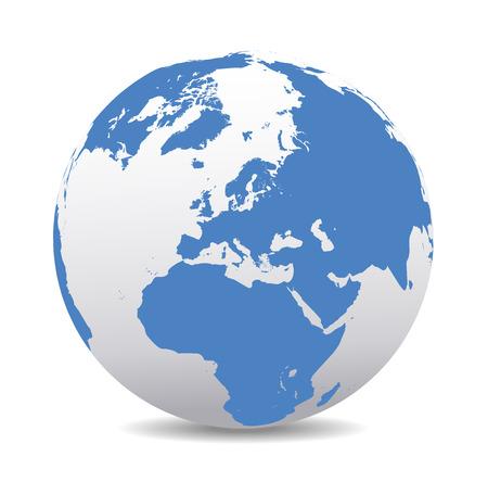 deutschland karte: Europa Global World
