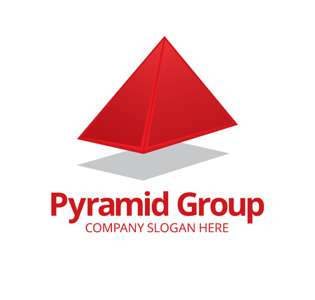 tec: Pyramid Logo Symbol Template