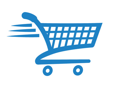 shopping cart online shop: Check Out Icon Symbol