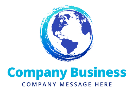Swirl Global Company Business icon Symbol