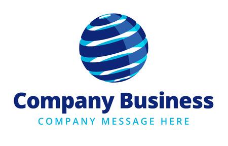 globális kommunikációs: Üzleti Logo Szimbólum Név Concept