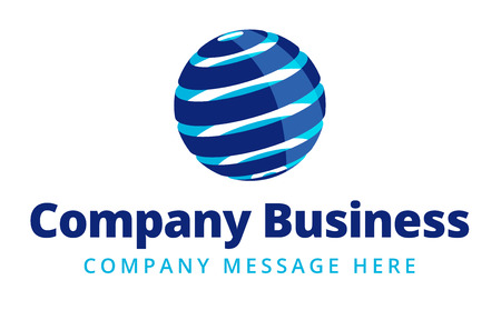 corporate world: Business Logo Symbol Name Concept Illustration