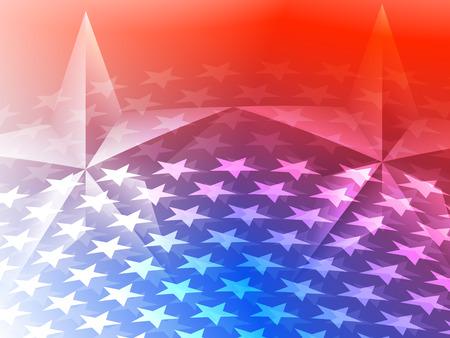 アメリカの星米国の背景  イラスト・ベクター素材