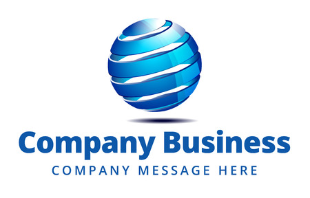 Business Logo Symbol Name Concept 矢量图像