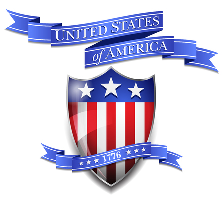 scroll: American Shield and United States of America Scroll