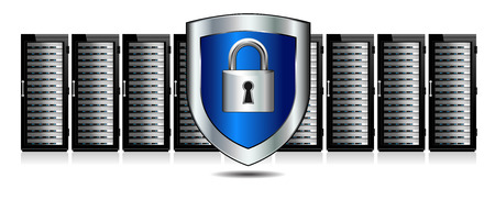 Shield Lock Servers Protection
