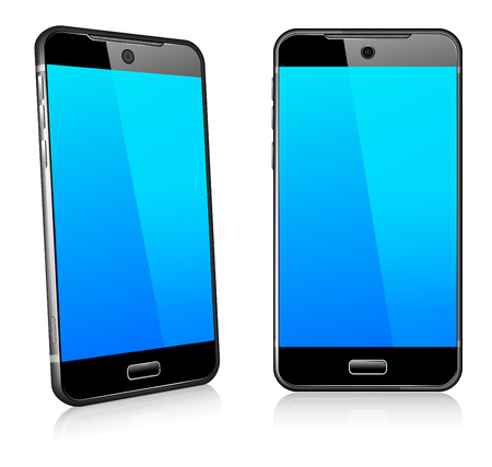 Phone Cell Smart Mobile 3D and 2D