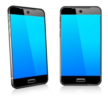Telefoon Cell Smart Mobile 3D en 2D