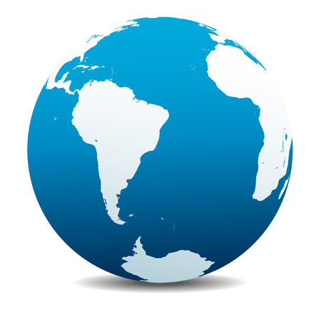 central america: South America and Africa Global World