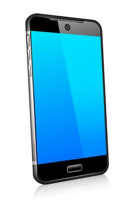 携帯電話スマート モバイル 3D  イラスト・ベクター素材