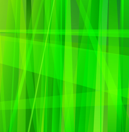 Green Abstract Line Background
