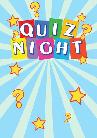 Quiz Night Poster Leaflet