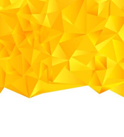 Triangle, Polygone, Résumé Le triangle d'interposition crée un arrière-plan de motif abstrait Illustration
