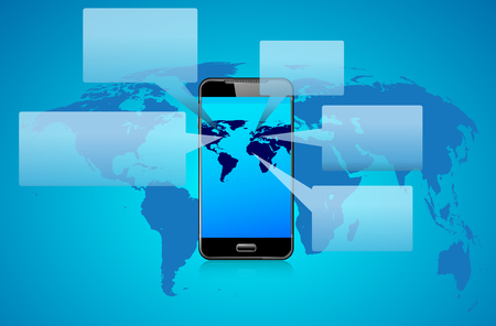 smartphone apps: Phone Talk Speech Bubbles