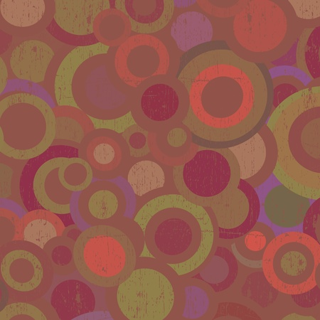 Grunge circles background