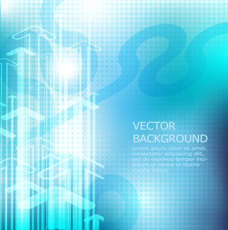 blue abstract background: Abstract background in blue vector Illustration