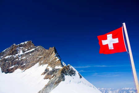 Jungfraujoch, Suisse Banque d'images - 11803502