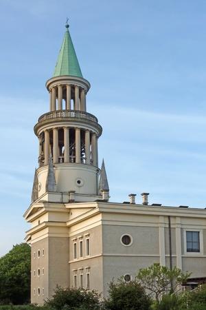 Plecnik church in Ljubljana, Slovenia, Europe photo