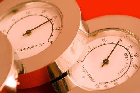 calibrated: Thermometer and Hygrometer