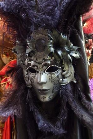 theater mask: Venetian carnival mask Stock Photo
