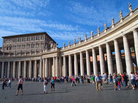 peters: Saint Peters Square, Vatican City