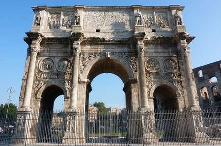 constantino: Arco Di Costantino (Arch of Constantine), Rome, Italy