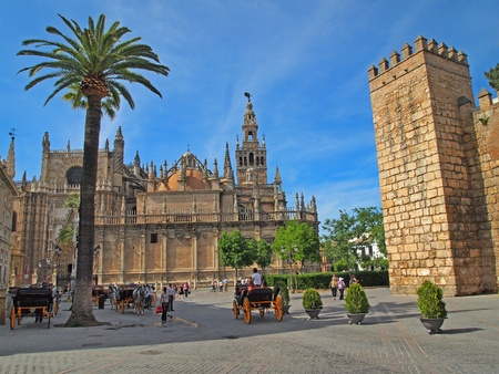 Sevilla in Andalusia, Spain Stock Photo