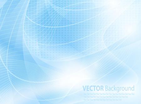 blue clip: Background in blue vector Illustration