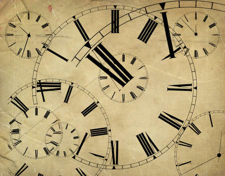 timepiece:  Abstract time background