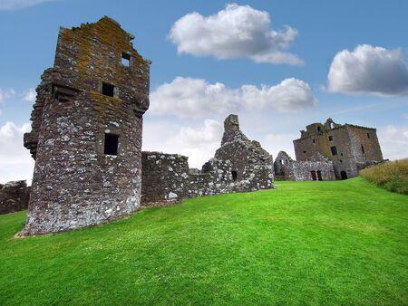highlander: Ruinas del castillo de Dunnotar, Escocia