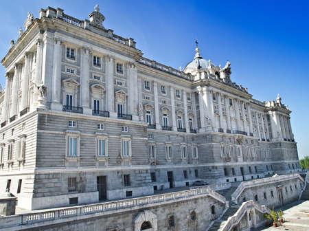 palacio: Madrid - Royal Palace, Spain Editorial