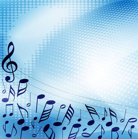 music banner: Music background