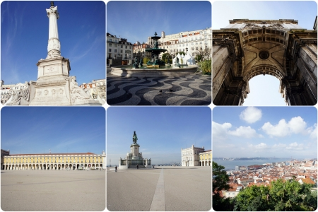 Collage of Lisbon, Portugal