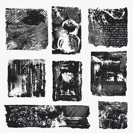 ink splat: Different frames