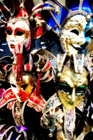 Carnival venetian masks Stock Photo - 17192974