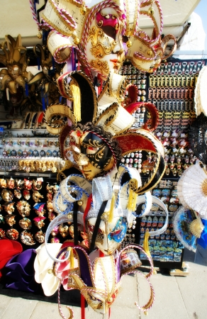 Carnival venetian masks  photo