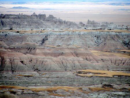south dakota: Badlands, South Dakota, Stati Uniti d'America