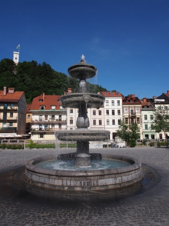 Ljubljana, capital of Slovenia, Europe photo