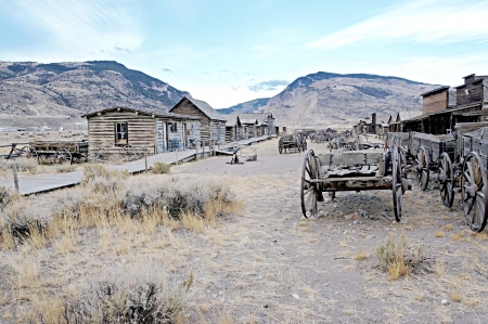 Ghost Town, Cody, Wyoming, United States photo