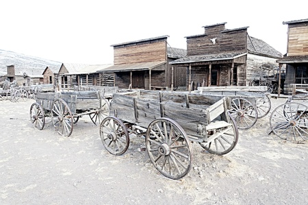 western town: Ghost Town, Cody, Wyoming, United States