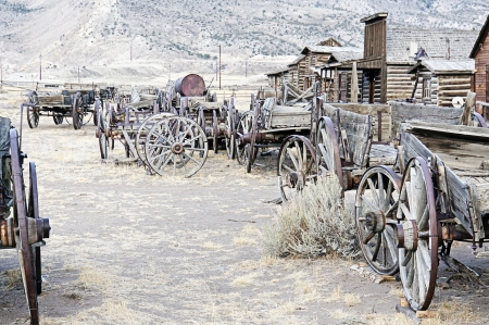 Ghost Town, Cody, Wyoming, Estados Unidos photo