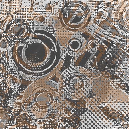 Retro grunge background vector Stock Vector - 22885606