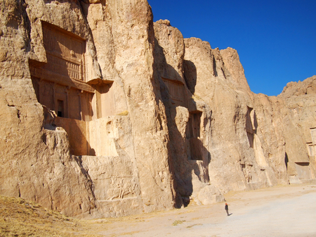 fars: Naqsh-e Rustam, Tomb of Persian Kings in Fars province, Iran