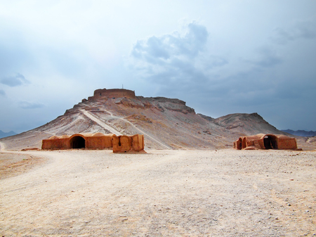 Towers of Silence in Yazd, Iran photo