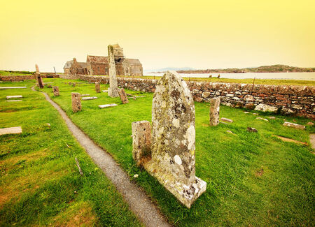 reportedly: Iona cemetery, Scotland  Many Scottish kings are reportedly buried in the cemetery