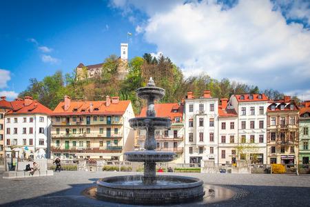 ljubljana: Ljubljana, capital of Slovenia, Europe