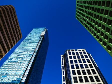 calgary: Modern office buildings