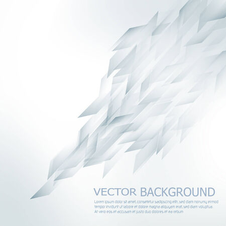 Abstract vector background in techno style Vector